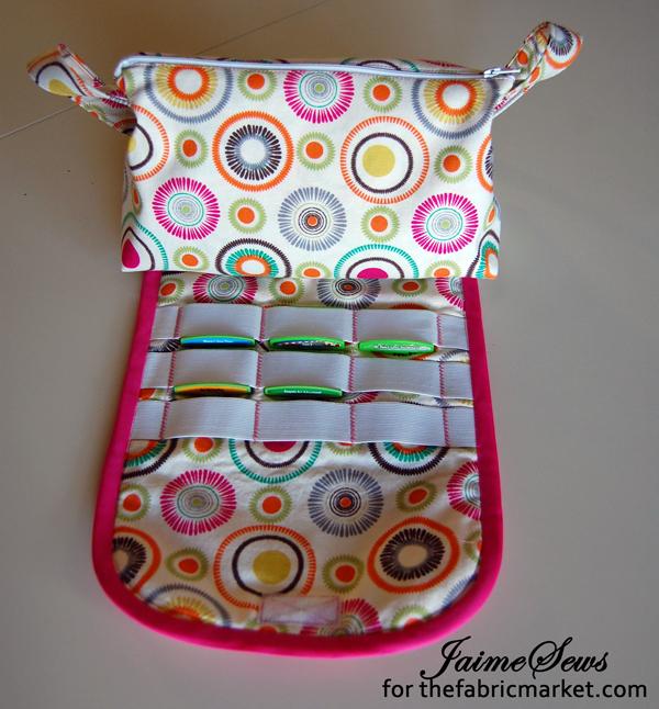 Brushes Bag turned Game Storage Bag | Thefabricmarket.com