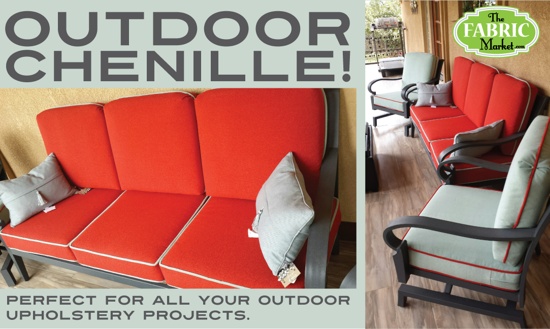 Did You Know We Have Outdoor Chenille The Fabric Market