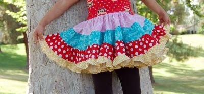 Brooklynn Twirl Dress MadeByJaime | TheFabricMarket.com