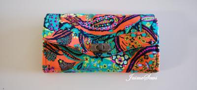 Emmaline Bags Necessary Clutch Wallet MadeByJaime | TheFabricMarket.com