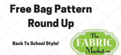 Free Bag Pattern Round Up | TheFabricMarket.com
