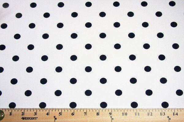 Color Dot Gabardine - Navy