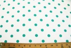 Color Dot Gabardine - Light Teal