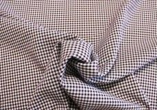 Mini Gingham Gabardine - Burgundy