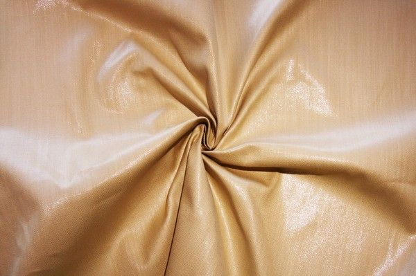 Rayon/Silk Sparkle Canvas - Straw