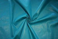 Rayon/Silk Sparkle Canvas - Cyan