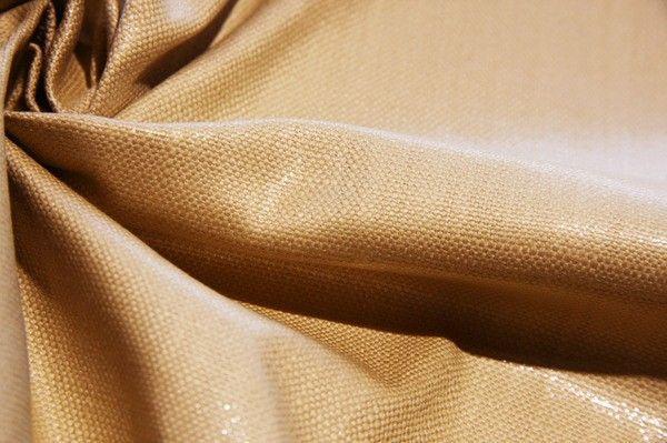 Rayon/Silk Sparkle Canvas - Straw