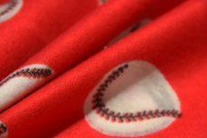 Red Baseball Flannel