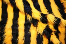 Ribbon Stripe Fur - Bumble Bee