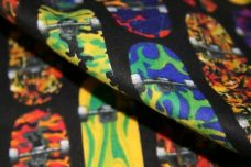 Skateboard Stripe Flannel