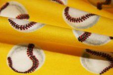 Yellow Baseball Flannel