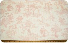 French Toile - Blush