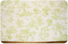 French Toile - Sage