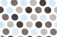 Mod Dots - Blue & Silver