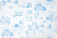 Nursry Ryme Toile - Sky Blue