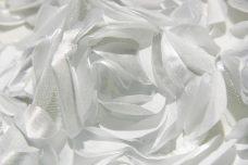 Jumbo Floral on Mesh - White