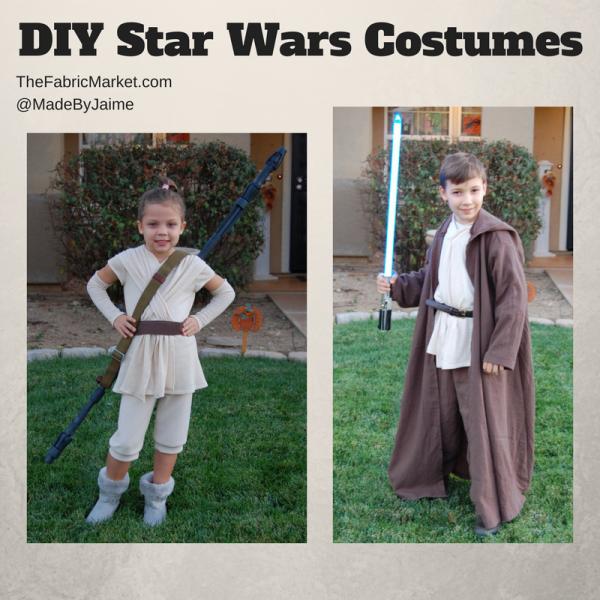Diy Rey Jedi Costumes Halloween 2017 The Fabric Market
