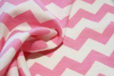 """3/8"""" Chevron Flannel - Pink"""