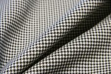 Micro Houndstooth Stretch Twill