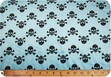 Chevron Skulls - Turquoise