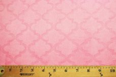 Embossed Moroccan Tile - Pink