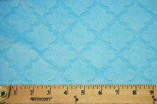 Embossed Moroccan Tile - Turquoise