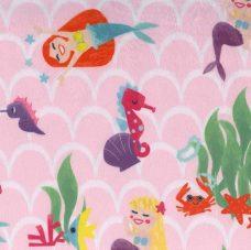 Merry Mermaids Minky