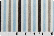 Mini Stripe - Baby Blue &  Silver