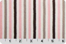 Mini Stripe - Blush &  Silver