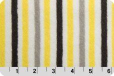Mini Stripe - Lemon &  Silver