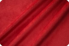 Flat Minky - Red
