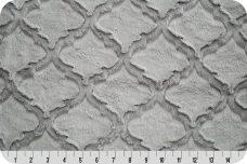 Embossed Lattice - Silver