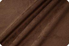 Flat Minky - Brown