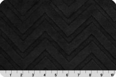 Embossed Chevron - Black