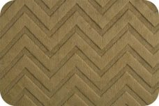 Embossed Chevron - Cappuccino