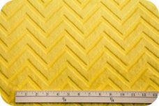 Embossed Chevron - Lemon