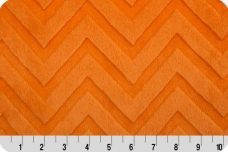 Embossed Chevron - Orange