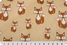Foxy Tails Minky