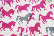 Pretty Ponies Flannel