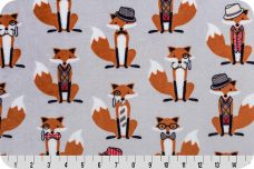 Nifty Foxes Minky