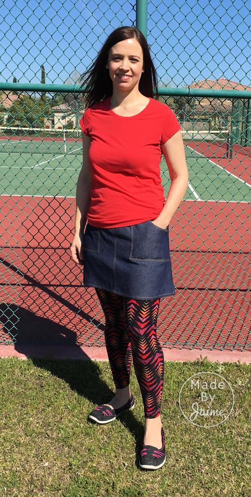 Rosie Skirt | MadeByJaime for TheFabricMarket.com
