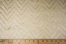 Chevron Chenille - Cream