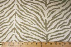 Woven Zebra Chenille - Taupe