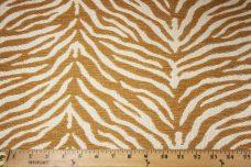 Woven Zebra Chenille - Caramel