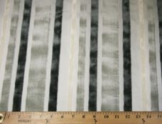 Velvet Cutout Stripe - Silver