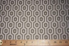 Hexagon Chenille - Silver