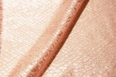 Blush Snake Skin Stretch Lace
