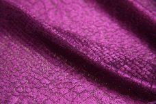 Violet Snake Skin Stretch Lace