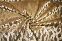 Jumbo Lattice Velvet - Wheat