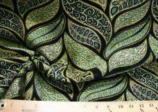Modern Leaf Chenille